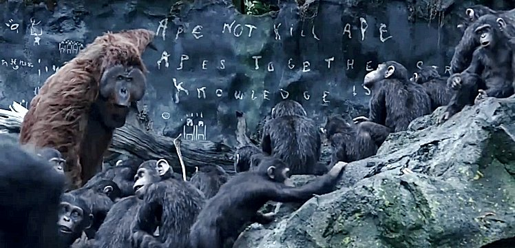 Dawn-of-Apes-Maurice-teaching