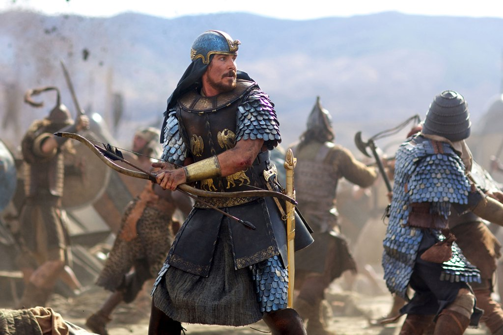DF-04130_R - Christian Bale stars as Moses in EXODUS: GODS AND KINGS.